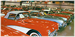 Straight-axle Classic Corvettes from 1953 to 1962